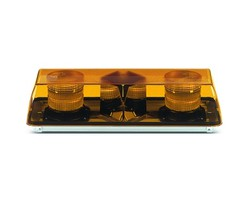 Xenon Doppelblitz Lichtwarnbalken 570 mm