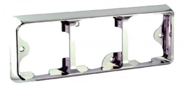 LED carlights Rahmen chrom 100B3C